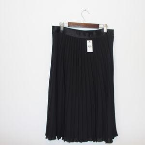 Express Skirts - Black pleated skirt